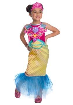 Disfraz de sirena Barbie para niña
