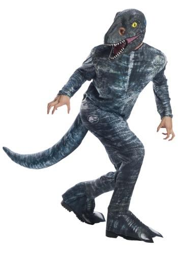 "Disfraz de Velociraptor ""Azul"" Jurassic World 2"
