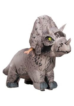 Disfraz Triceratops inflable de Jurassic World 2 para adulto