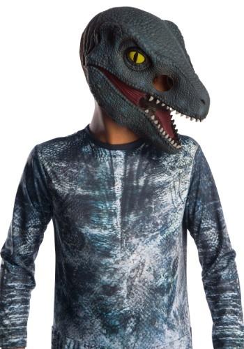 Jurassic World 2 Blue Velociraptor Kids 3/4 Máscara