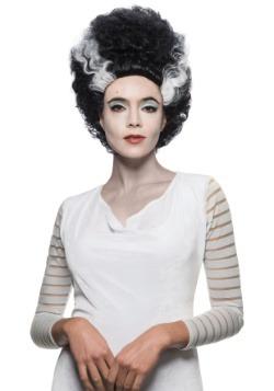 La novia de Frankenstein peluca niño / adulto