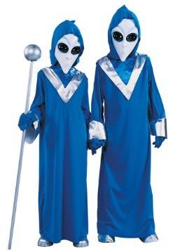 Disfraz de alienígena espacial infantil