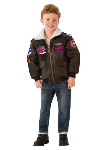 Top Gun Kid's Bomber Jacket Costume