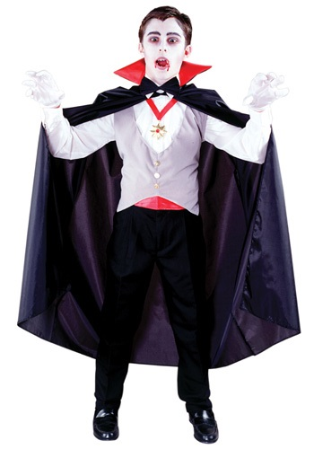 Disfraz de vampiro clásico para niños