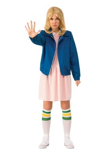 Disfraz de chaleco azul para adulto Stranger Things Eleven