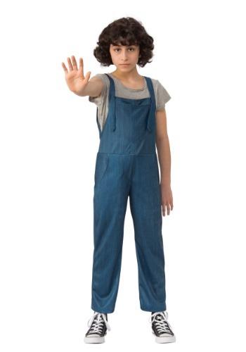 Disfraz de mameluco de Eleven de Stranger Things para niños