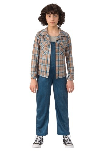 Niño Stranger Things Eleven camisa a cuadros