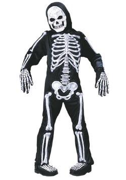 Disfraz de esqueleto para niños