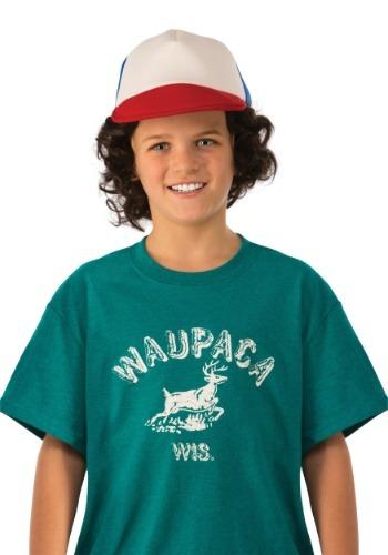 Camisa de Dustin Waupaca de Stranger Things para niños