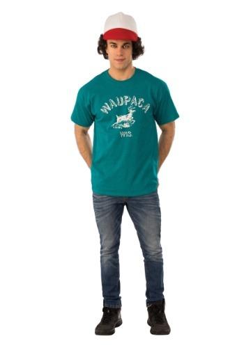 Camiseta de Dustin Waupaca de Stranger Things para adulto