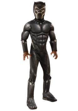 Disfraz de pantera negra de lujo para niños