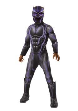 Disfraz de pantera negra iluminada para niño