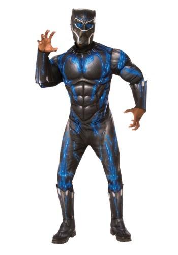 Disfraz de pantera negra de lujo adulto adulto