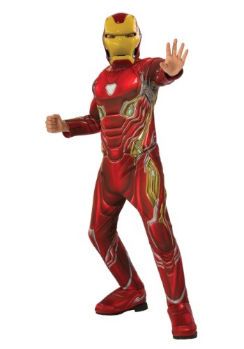 Traje de Iron Man de Infinity War de Child Marvel Infinity