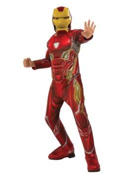 Traje de Iron Man de Infinity War de Child Marvel Infinity