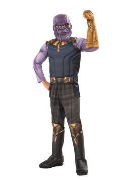 Traje de lujo Thanos de Marvel Infinity War Deluxe para niño