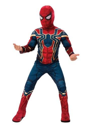 Disfraz de Marvel Infinity War Deluxe Iron Spider para niños