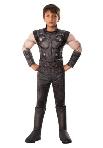 Traje de Thor Marvel Infinity War Deluxe para niños