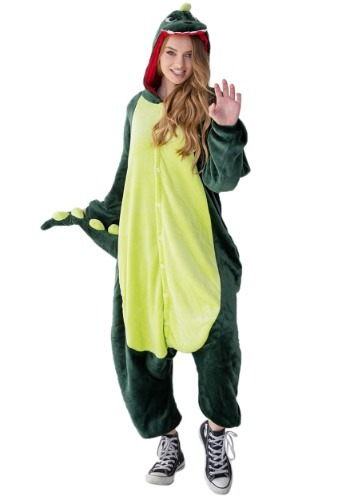Disfraz de dinosaurio Yumio para adulto