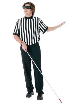 Disfraz de árbitro ciego