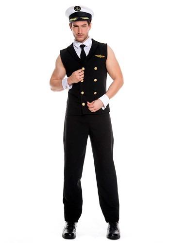 Disfraz de piloto sexy para hombre