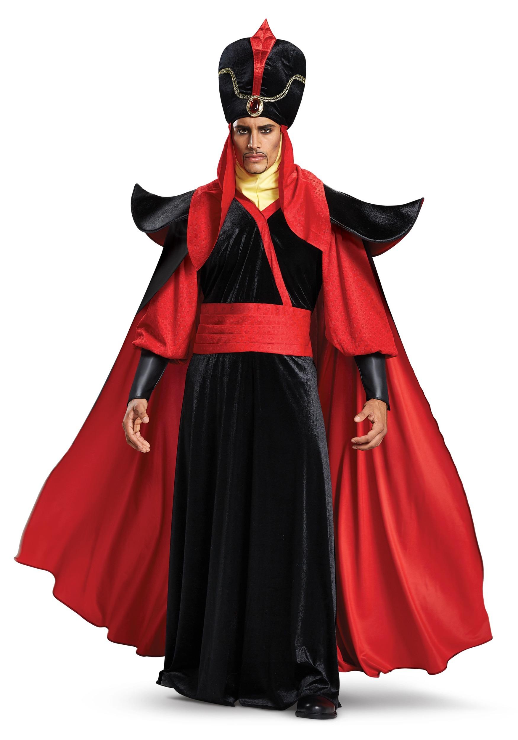 Disfraz de Jafar de Aladdin de Disney para hombre
