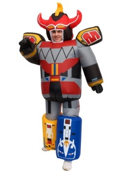 Disfraz de Megazord inflable de Power Rangers adulto