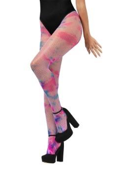 Mallas de rejilla de teñido anudado de unicornio para mujer