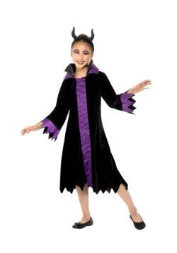 Disfraz de Reina Malvada para niña