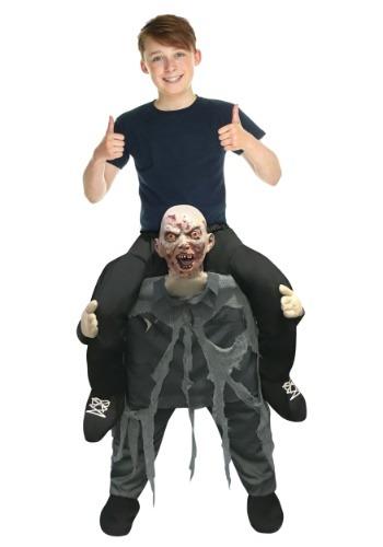 Disfraz de Piggyback niño Zombie