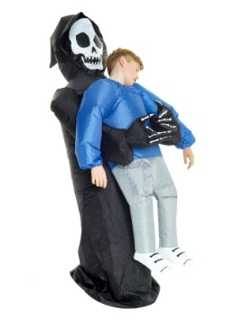 Niño Grim Reaper infeliz Pick Me Up Costume