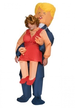Adult Presidential Inflatable Pick Me Up Costume