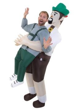 Adulta bávaro inflable me escoge traje