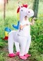 Disfraz de unicornio gigante infantil inflable