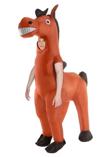 Disfraz de caballo inflable gigante infantil