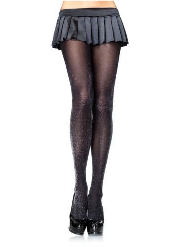 Mallas de mujer Lurex color negro y plata