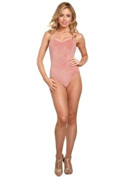 Body mujer color rosa dorado