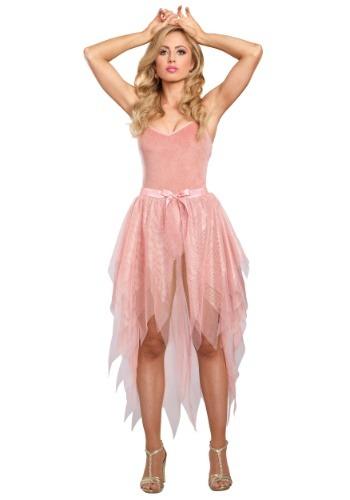 Falda de mujer de oro rosa