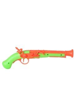 Pistola de pirata naranja/verde