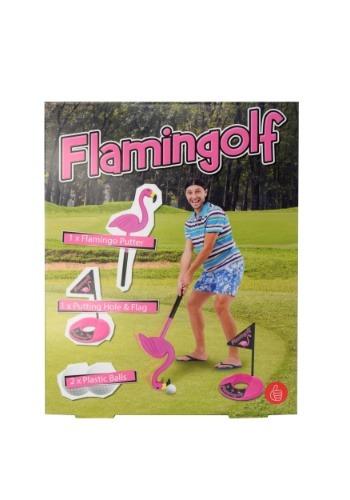 Set de palos de golf de flamingo Flamingolf
