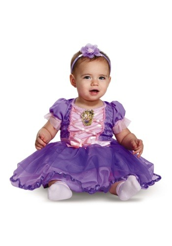 Disfraz de rapunzel enredado infantil