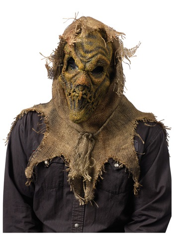 Máscara de espantapájaros aterrador