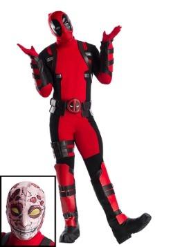 Disfraz Premium Marvel de Deadpool talla extra para hombre
