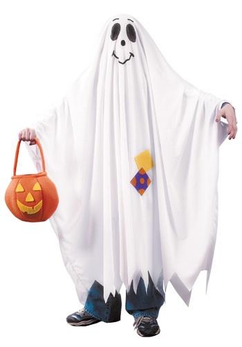 Disfraz de fantasmas amistoso para niños