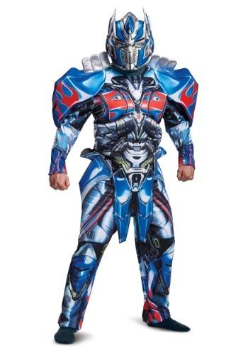 Transformers 5 Deluxe Optimus Prime vestuario