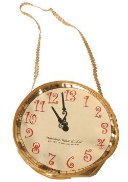 Bolso de reloj dorado de Alicia