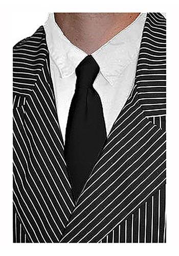 Corbata negra de gángster