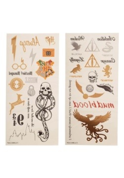 Juego de tatuajes temporales de Harry Potter