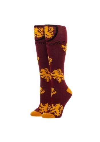 Calcetines altos de Gryffindor de Harry Potter