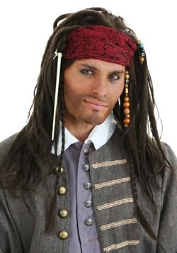 Peluca de pirata auténtica